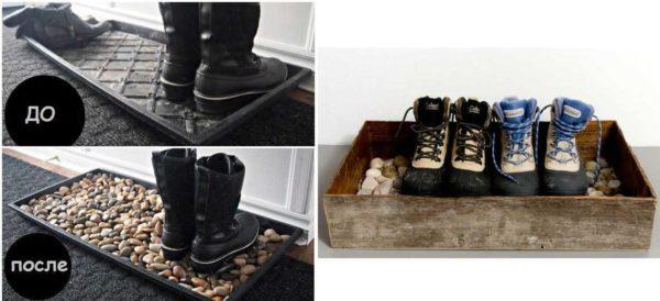 Идеи для хранения обуви в доме