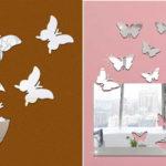 Бабочки из зеркала - интересная идея