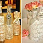 Из обычных бутылок получаются замечательные вазы