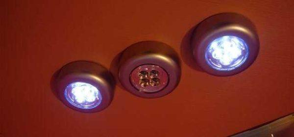 Вот это - энергонезависимые светодиодные лампы