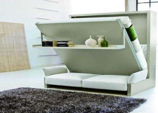 Диван-кровать-шкаф - эти модели более удобны