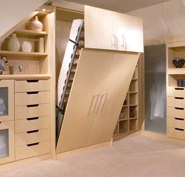 Такой вариант выглядит совсем как шкаф