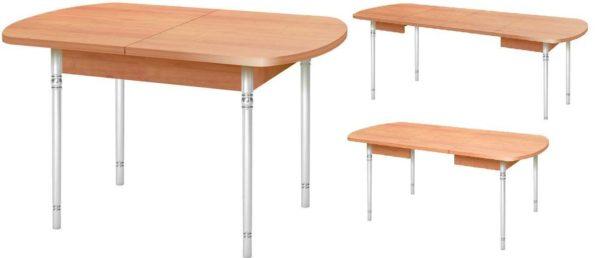На сколько увеличить стол решаете сами
