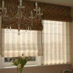 А это - двойные римские шторы: для дня и ночи
