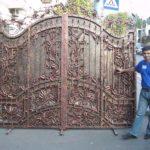 Красивейшие кованые ворота