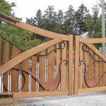 Симбиоз металла и древесины — красиво получается