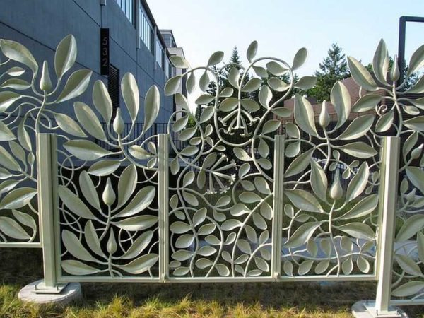 Сварной забор — не значит скучный