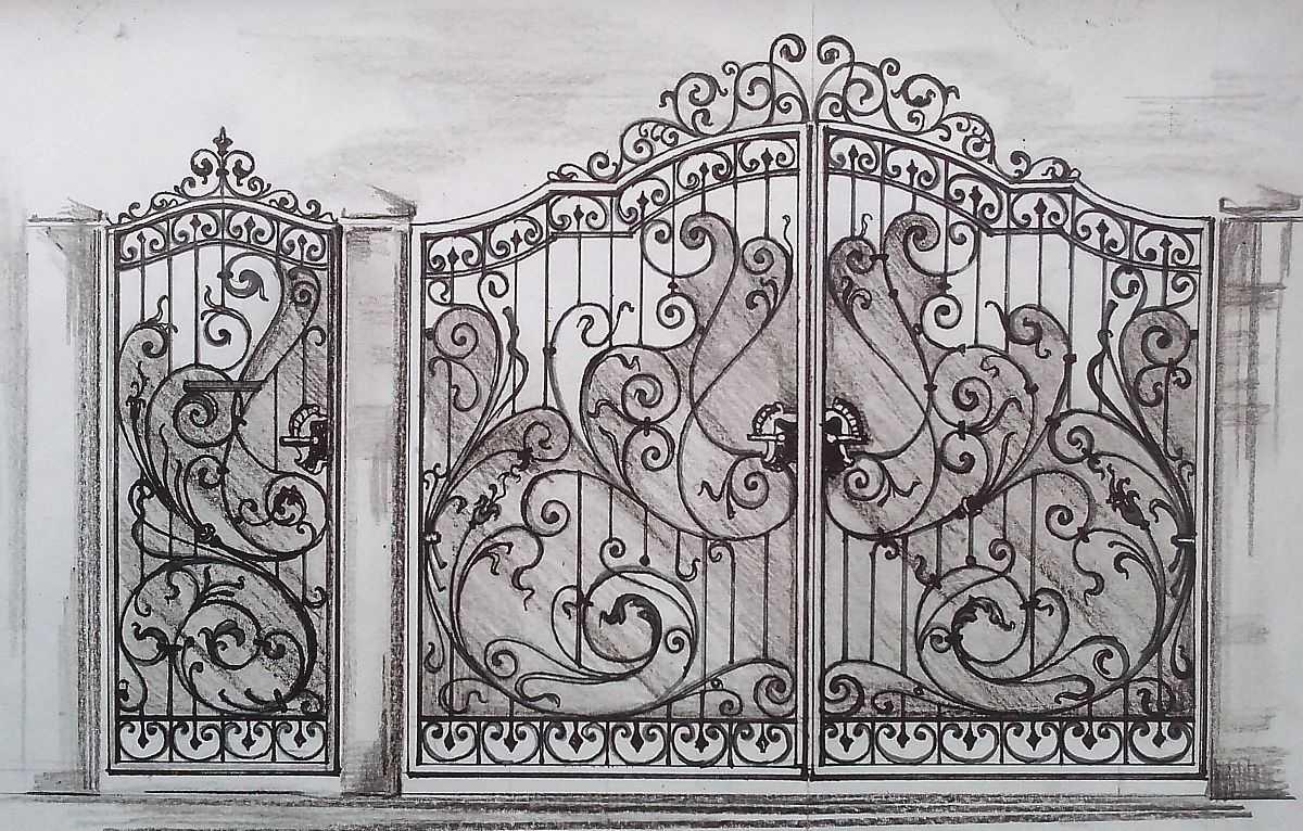 менее, эта фото кованые узоры на ворота и двери эти ваши огоньки