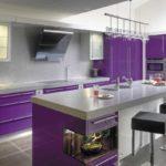 Много чистых и красивых оттенков в фиолетовой гамме