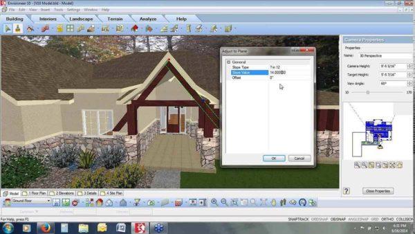 Программа проектирования домов Envisioneer