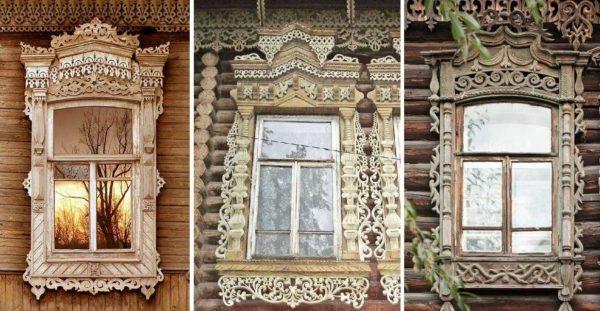 Резные наличники на окна - способ сделать свой дом уникальным