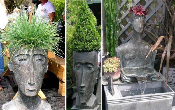 Для таких скульптур нужна форма...