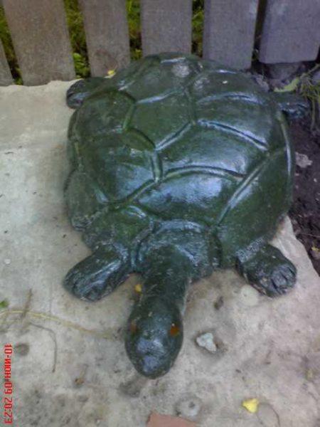 Черепахи и грибы из бетона - их начинающие скульпторы делают чаще всего