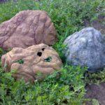 Можно начать с таких декоративных камней