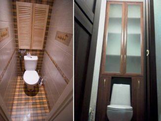 Мебель в туалет можно заказать в мебельном цеху