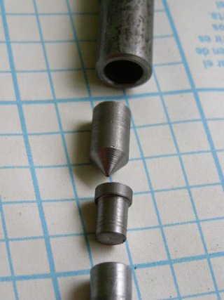Поворотный механизм для флюгера с цилиндром