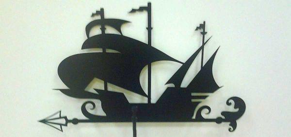 Корабль из листового железа