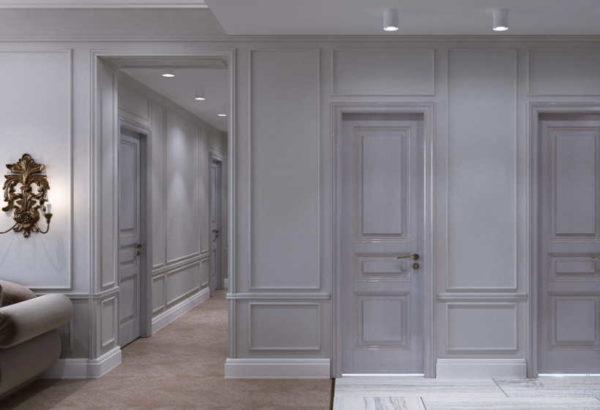 Двери и украшения для стен в одном формате