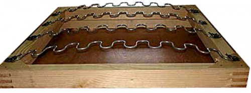Так можно обновить стул - поставить пружины-змейки