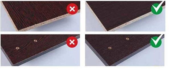 Из некачественного ЛДСП изготовить хорошую мебель не получится