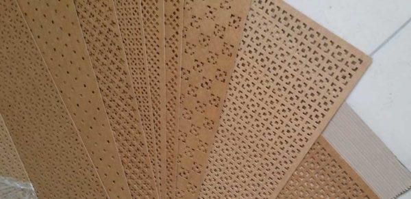 Плиты ХДФ имеют обычно небольшую толщину и используются для фрезерования узоров