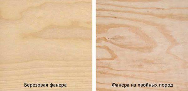 Есть стандарты, регламентирующие размеры хвойной и лиственной фанеры