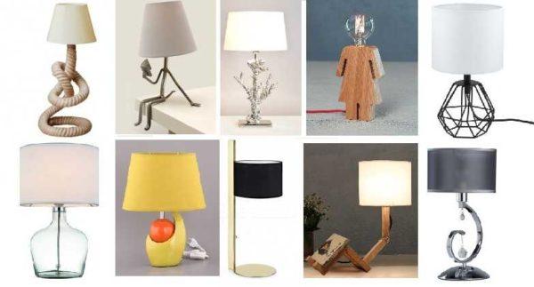 Настольная лампа для рабочего стола может быть очень необычной