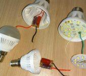 Заявленный срок службы светодиодных ламп - чуть ли не пол века. А через пол года накапливается несколько штук нерабочих