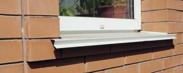 Установка отливов на окна - завершающий этап грамотного монтажа