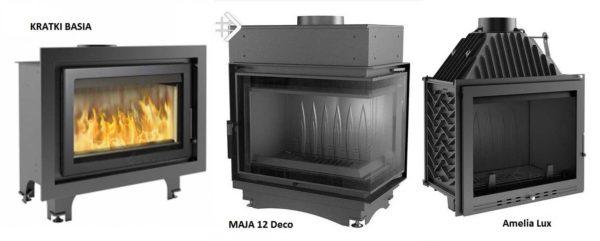 Разные модели компании Kratki, разные цены, разные характеристики и внешний вид (Basia, Maja 12 Deco, Amalia Lux)