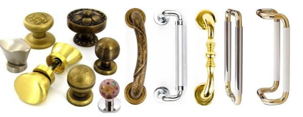 Как выбрать стационарные ручки для межкомнатных дверей: определяемся с материалом