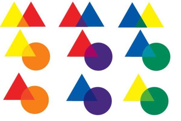Дополнительные цвета и их оттенки