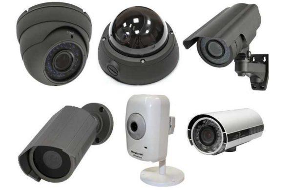 Виды и формы камер для охранного видеонаблюдение для дома