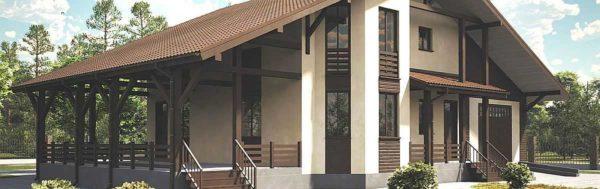Если основные параметры строения имеют правильную пропорцию, в любом стиле здание смотрится интересно