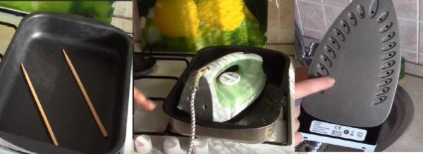 Не знаете чем почистить утюг от накипи внутри? Водой с лимонной кислотой