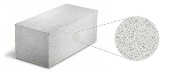 Пористая структура дает достаточную прочность при небольшом весе