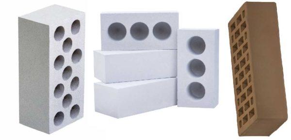 Форма, размеры, расположение пустот в силикатном кирпиче не нормируются. Наружная стенка должна быть не менее 10 мм. Это все требования