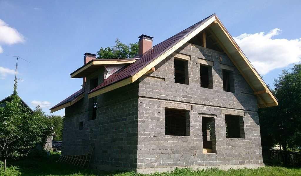крыша керамзитобетон