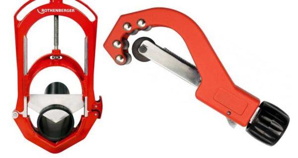 Роликовый труборез и гильотина для труб - еще два инструмента для нарезания труб
