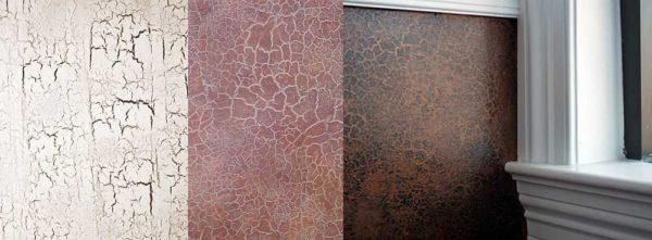 Потресканная краска - еще один эффект декор-краски