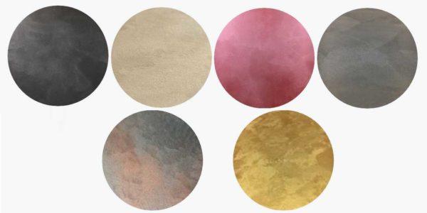Так выглядит покрытие декоративной краской с эффектом шелковой поверхности