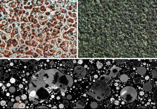 Разновидности наждачной бумаги: разный абразив имеет разный цвет