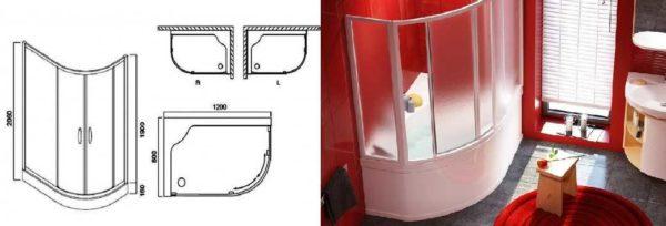 Оптимальная форма - немного места занимает, а пользоваться удобно