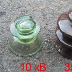 изоляторы 0,4, 10 и 35 кВольт