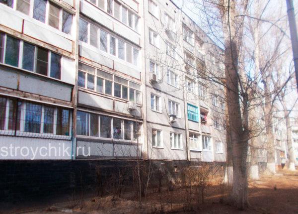 Цокольный этаж пятиэтажки
