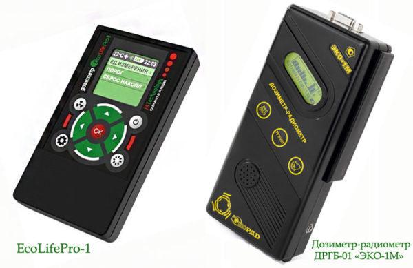 дозиметры для измерения радиации