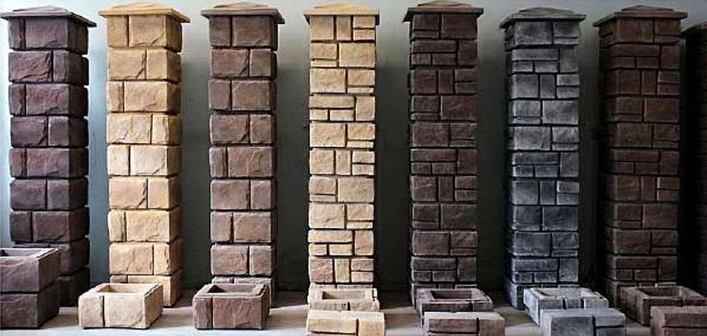 Наборный столб для забора из бетона купить технология производства керамзитобетона