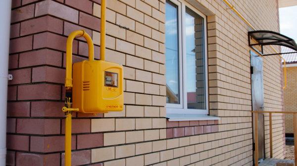монтаж газа в дом