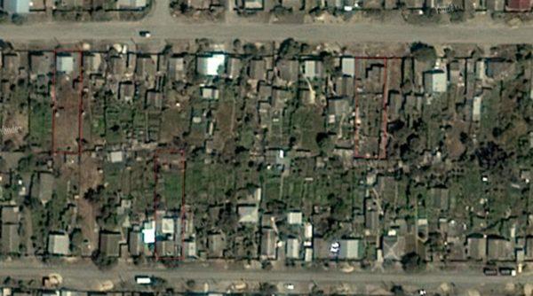 участки на карте гугла