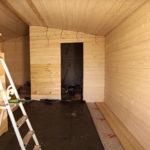внутренняя отделка модулей дома